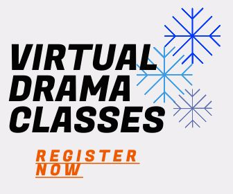 Virtual Drama Classes graphic