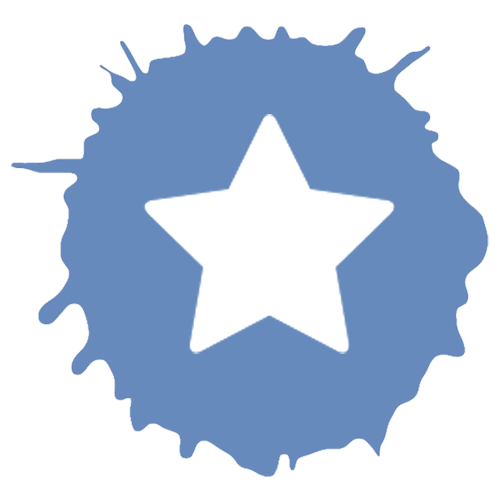 classes icon with a star