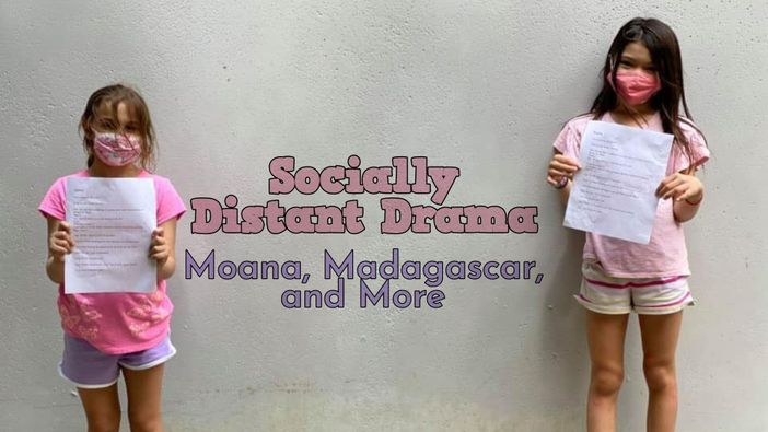 Socially Distant Drama Classes graphic